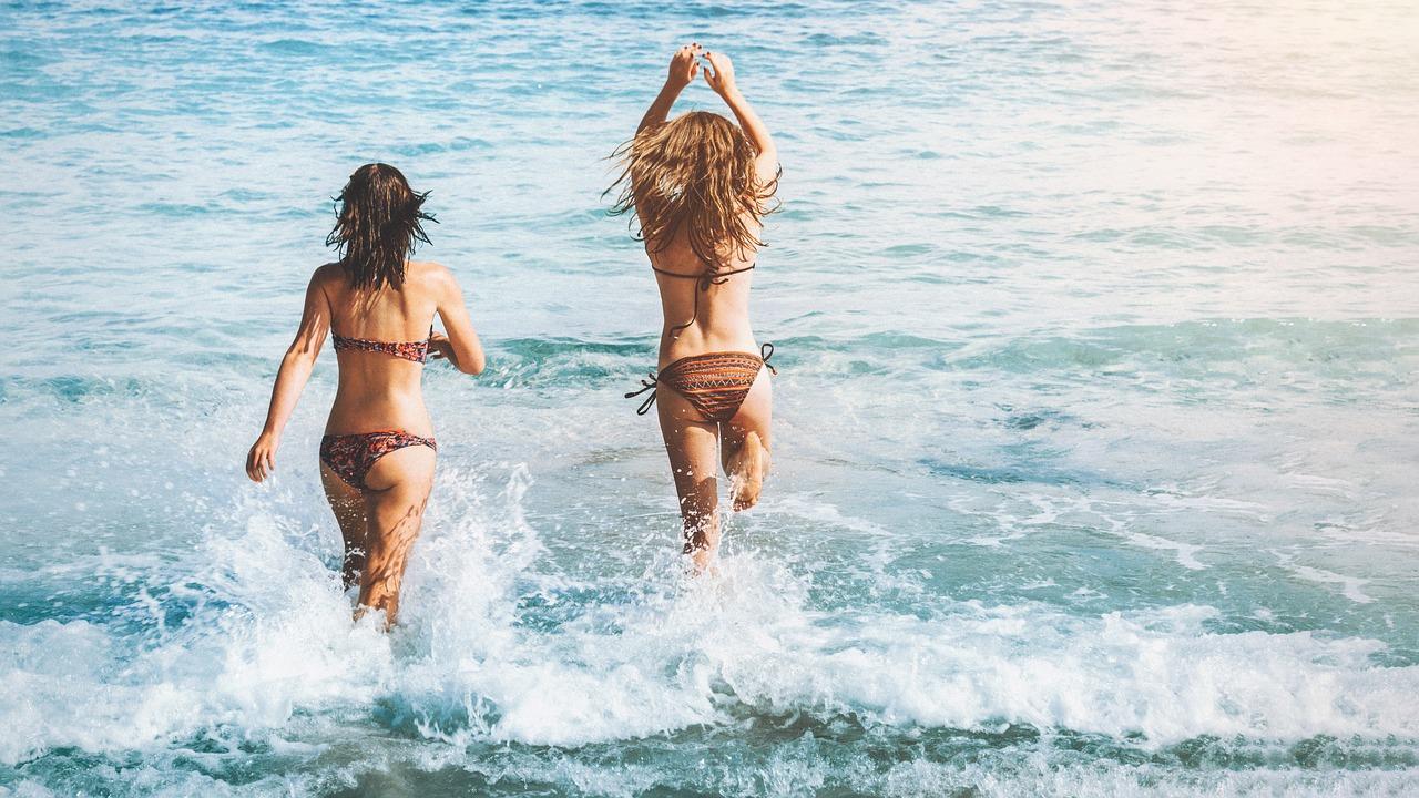 Afbudsrejse inspiration på stranden