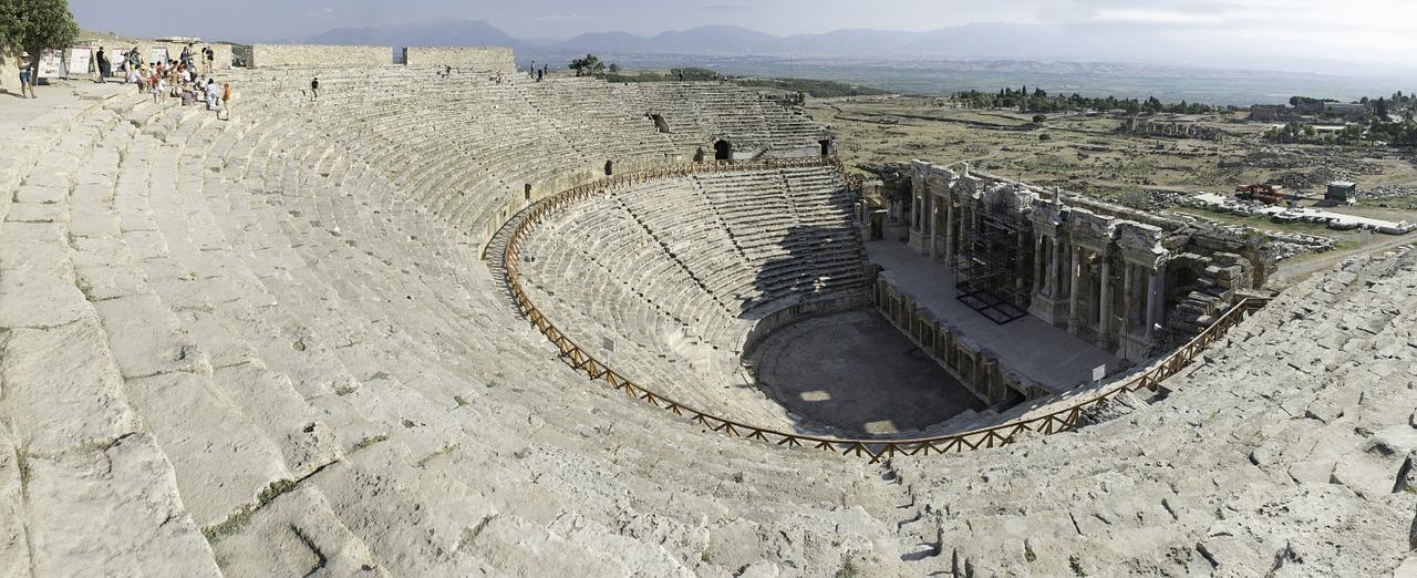 Det antikke teater i Hierapolis