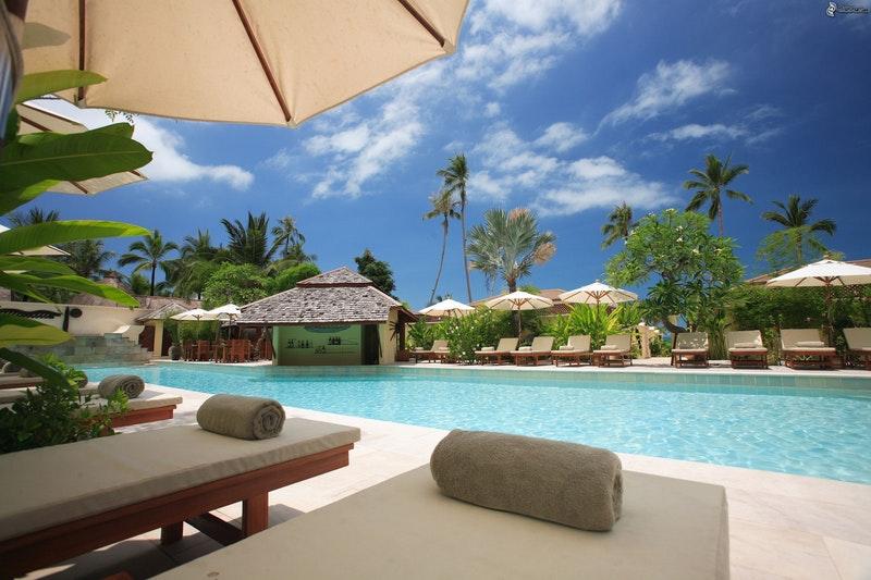 resort med pool